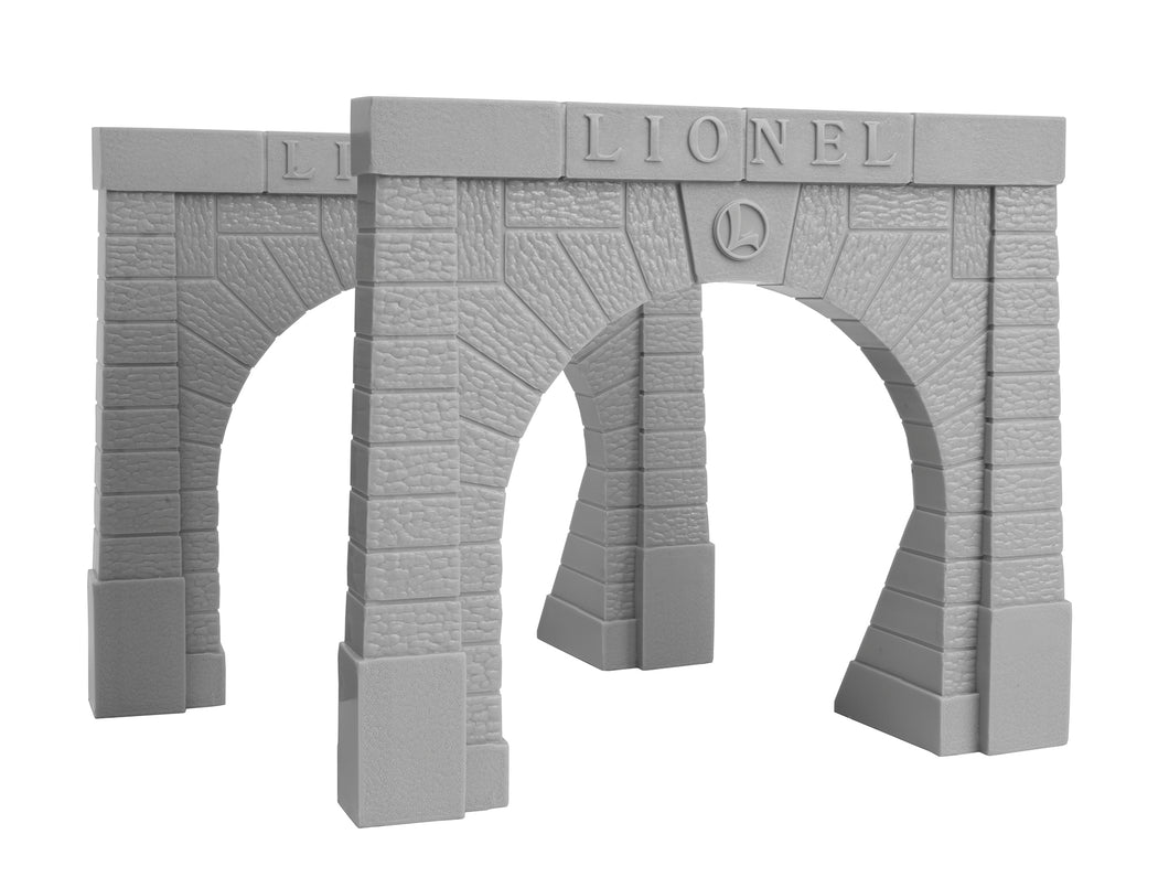 Lionel - Tunnel Portals - O Scale (6-12896) - the-pennsy-station-llc