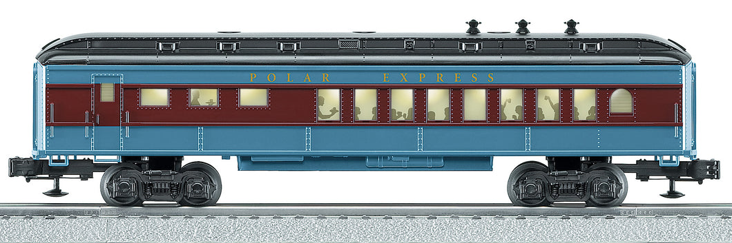 Lionel - The Polar Express - Diner Car - O Scale (6-25134) - the-pennsy-station-llc