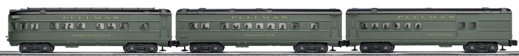 Lionel - Pullman Passenger Car Expansion Set - O Scale (6-30111) - the-pennsy-station-llc