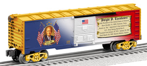 Lionel - USA President Dwight Eisenhower Boxcar - O Scale (6-81490) - the-pennsy-station-llc