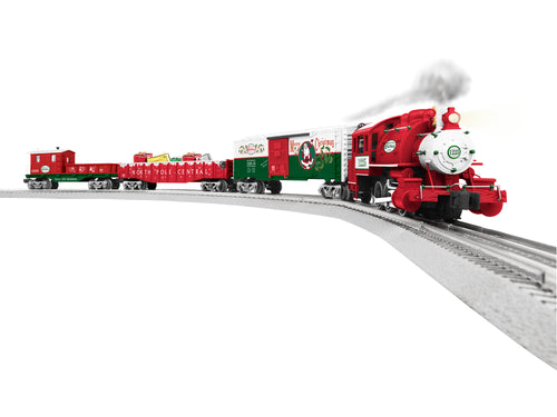 Lionel - Lionchief Santa's Helper Christmas Set - O Scale (6-82545) - the-pennsy-station-llc