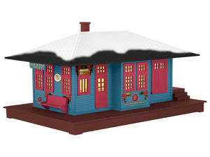 Lionel - The Polar Express - Passenger Station - O Scale (6-83434) - the-pennsy-station-llc