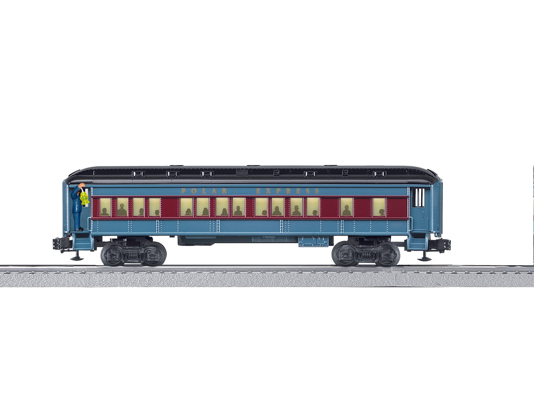 Lionel - The Polar Express - Announcement Car - O Scale (6-83437) - the-pennsy-station-llc