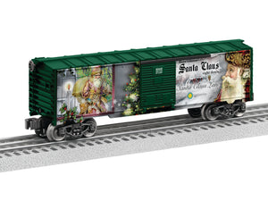 Lionel - Smithsonian Old St Nick Boxcar - O Scale (6-83445) - the-pennsy-station-llc