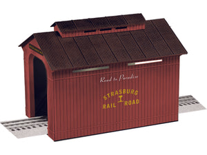 Lionel - Strasburg Covered Bridge - O Scale (6-84334) - the-pennsy-station-llc