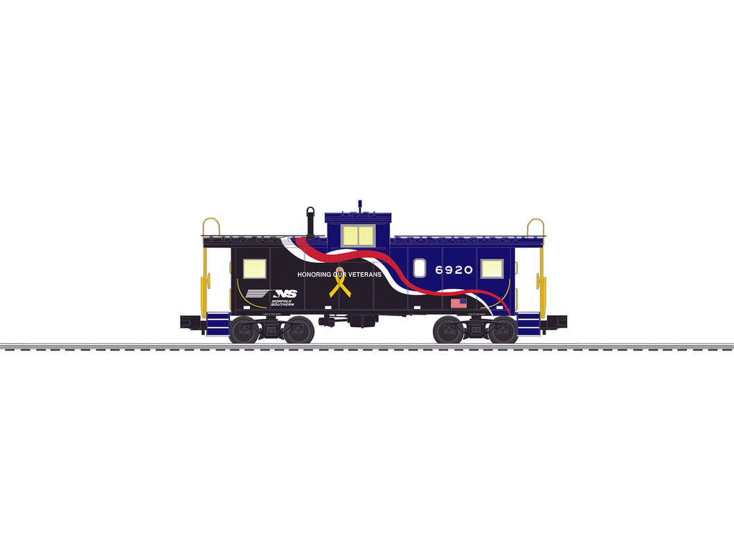 Lionel - Norfolk Southern Veterans Caboose (6-84529) - the-pennsy-station-llc