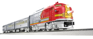 Lionel - Lionchief Santa Fe Super Chief Set w/ BT - O Scale (6-84719) - the-pennsy-station-llc