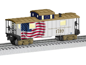 Lionel - USA Presidents Caboose - O Scale (6-84782) - the-pennsy-station-llc