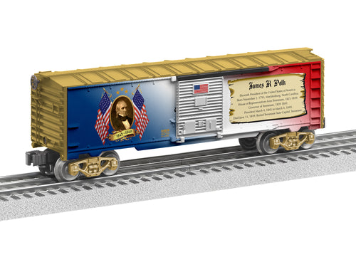 Lionel - USA President James K Polk Boxcar - O Scale (6-84929) - the-pennsy-station-llc