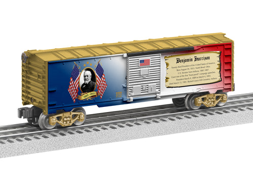 Lionel - USA President Benjamin Harrison Boxcar - O Scale (6-84930) - the-pennsy-station-llc