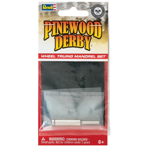 Revell - Pinewood Derby - Wheel Truing Mandrel Set (RMXY9613) - the-pennsy-station-llc