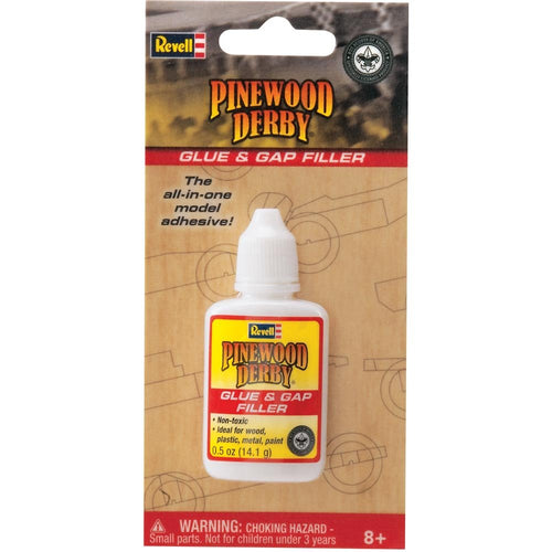 Revell - Pinewood Derby - Glue & Gap Filler (RMXY9617) - the-pennsy-station-llc