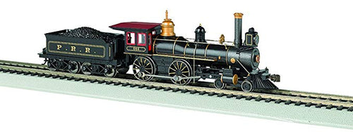 Bachmann - 4-4-0 American Steam Loco PRR #566 - HO Scale (51005) - the-pennsy-station-llc