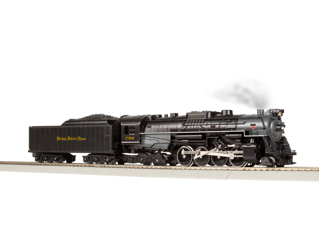 Lionel A/F - Flyerchief - Berkshires - Nickel Plate #759 - S Scale (644021) - the-pennsy-station-llc
