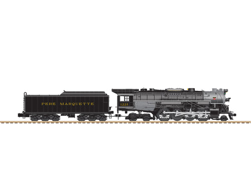 Lionel A/F - Flyerchief - Berkshires - Pere Marquette #1225 - S Scale (644022) - the-pennsy-station-llc