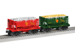 "Lionel - PRR ""Silver & Gold"" Ore Car 2-Pack - O Scale (6-82709) - the-pennsy-station-llc"
