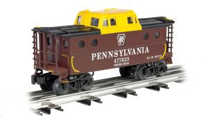 Williams by Bachmann - PRR Caboose N5C - O Scale (47719) - the-pennsy-station-llc