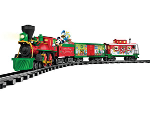 Lionel - Mickey Mouse Christmas RTP Set - G Scale (7-11773) - the-pennsy-station-llc