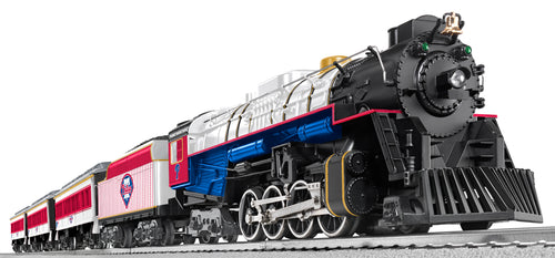 Lionel - MLB Phillies Berkshire Train Set - O Scale (7-12004) - the-pennsy-station-llc