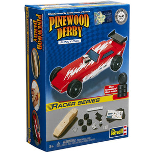 Revell - Pinewood Derby - Funny Car Racer Series (RMXY9636) - the-pennsy-station-llc