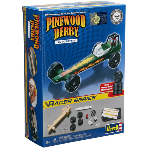 Revell - Pinewood Derby - Dragster Racer Series (RMXY9635) - the-pennsy-station-llc