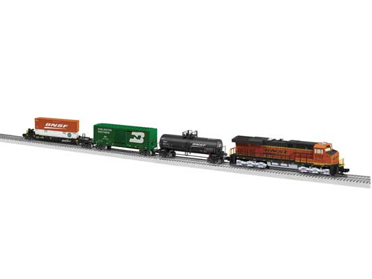 Lionel - Lionchief BNSF Tier 4 Freight Set w/ BT - O Scale (6-84732) - the-pennsy-station-llc