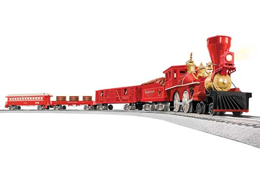 Lionel - Lionchief Anheuser-Busch Budweiser Clydesdale Set w/ BT - O Scale (6-84754) - the-pennsy-station-llc
