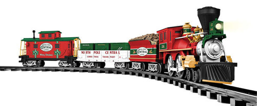 Lionel - North Pole Central RTP Set - G Scale (7-11729) - the-pennsy-station-llc