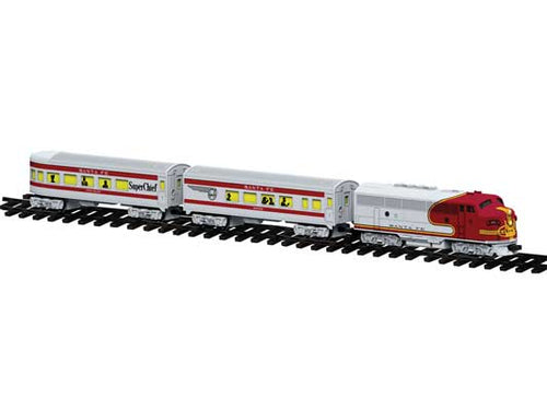 Lionel - Santa Fe Diesel Passenger RTP Set - G Scale (7-11913) - the-pennsy-station-llc