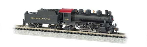 Bachmann - Engine - Prairie 2-6-2 PRR #2761 - N Scale (51564) - the-pennsy-station-llc