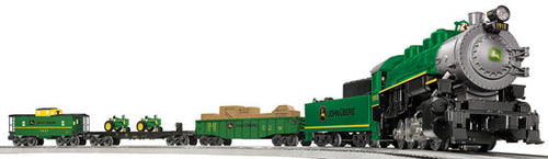 Lionel - Lionchief John Deere Steam Set - O Scale (6-83286) - the-pennsy-station-llc