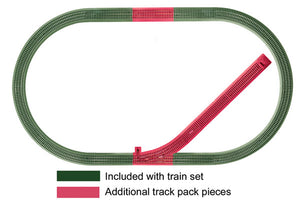 Lionel - Fastrack Siding Add-On Tack Pack - O Scale (6-12044) - the-pennsy-station-llc