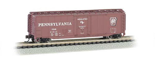 Bachmann - Rolling Stock - 50' Plug Door PRR Box Car - N Scale (71064) - the-pennsy-station-llc