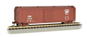 Bachmann - Rolling Stock - 50' Sliding-Door PRR Box Car - N Scale (19459) - the-pennsy-station-llc