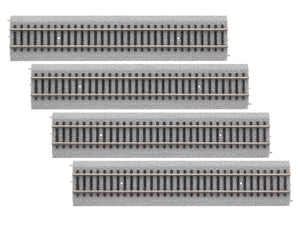 "Lionel - 9"" Straight MagneLock Track 4-Pack - HO Scale (87-1818020) - the-pennsy-station-llc"