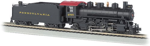 Bachmann - Baldwin 2-6-2 Prairie with Smoke - Standard DC - HO Scale (51528) - the-pennsy-station-llc
