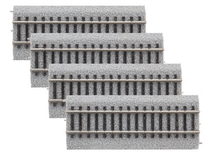 "Lionel - 4.5"" Straight MagneLock Track 4-Pack - HO Scale (8768044) - the-pennsy-station-llc"