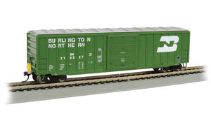 Bachmann - Rolling Stock - Burlington Northern 50' Boxcar w/ EOT #219327 - HO Scale (14902)