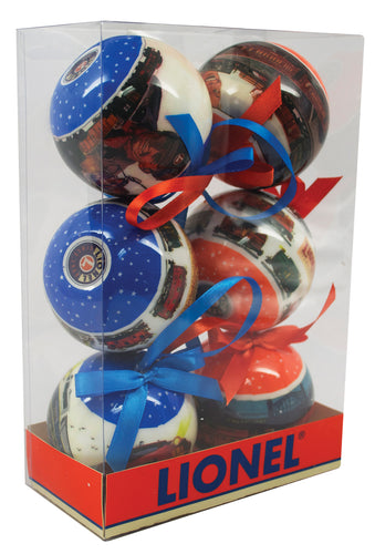 Lionel - Post-War Ornament 6-Pack (9-21016) - the-pennsy-station-llc