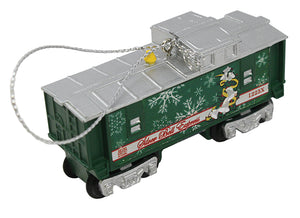 Lionel - Silver Bells Caboose Ornament (9-22018) - the-pennsy-station-llc