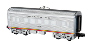 Lionel - SF Passenger Car Ornament (9-22054) - the-pennsy-station-llc