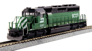 KATO - Burlington Northern EMD SD40-2 #8023 - HO Scale (37-6605) - the-pennsy-station-llc
