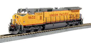 KATO - GE C44-9W UP #6932 w/ DCC - HO Scale (37-6632DCC) - the-pennsy-station-llc