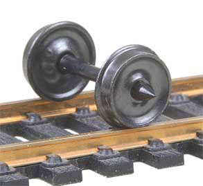 "Kadee - Code 110 33"" Smooth Freight Metal Wheels - HO Scale (520) - the-pennsy-station-llc"