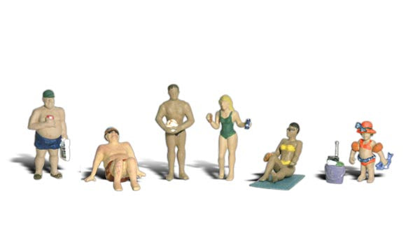 Woodland Scenics - Sun Bathers - HO Scale (A1853) - the-pennsy-station-llc