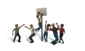 Woodland Scenics - Shootin' Hoops - HO Scale (A1926) - the-pennsy-station-llc