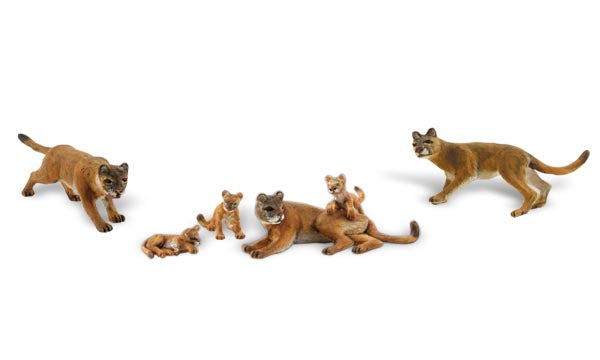 Woodland Scenics - Cougars and Cubs - HO Scale (A1949) - the-pennsy-station-llc