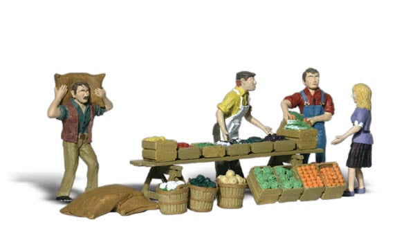 Woodland Scenics - Farmers Market - O Scale (A2750) - the-pennsy-station-llc