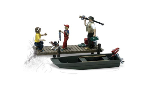 Woodland Scenics - Family Fishing - O Scale (A2756) - the-pennsy-station-llc