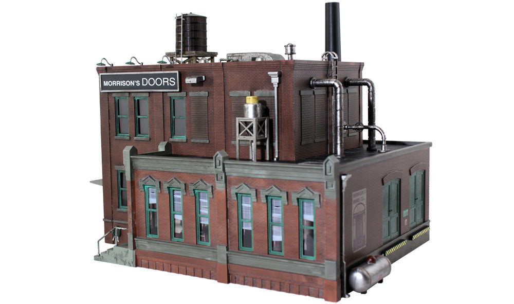 Woodland Scenics - BR Morrison Door Factory - O Scale (BR5848) - the-pennsy-station-llc